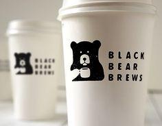 次の @Behance プロジェクトを見る : 「Black Bear Brews」 https://www.behance.net/gallery/30153751/Black-Bear-Brews