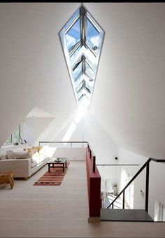 a huge skylight