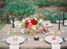 Jewel toned Fall wedding inspiration | Photo by Odalys Mendez | Read more - http://www.100layercake.com/blog/?p=68746