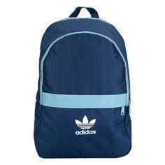 de31299140d549 O visual jovem da Mochila Adidas Ess Adicolor Azul e Azul claro complementa  suas diferentes produções