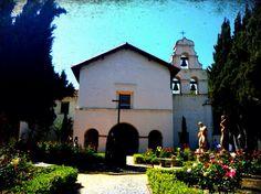 Mission San Juan Bautista, near Gilroy, California