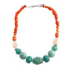 Vibrant Multi-Stone Necklace