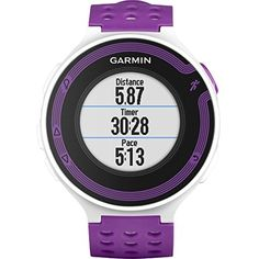 Garmin Forerunner 220, White/Violet (Certified Refurbished) -- Learn more by visiting the image link. (This is an affiliate link) #Running