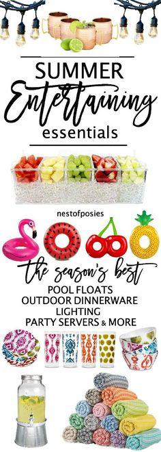 Summer Entertaining Essentials