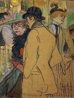 Toulouse Lautrec - Alfred la Guigne