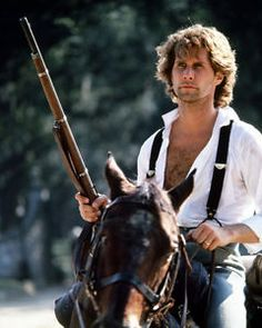 Parker Stevenson Today | NORTH-AND-SOUTH-PARKER-STEVENSON-OPEN-SHIRT-ON-HORSE-WITH-RIFLE-PHOTO ...