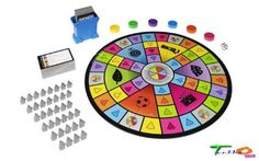 Hasbro Party Board Games Adult Family Game Night Portable Trivial Pursuit Party #Hasbro