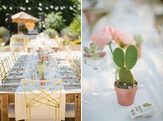 Glamorous Palm Springs Wedding: Meg + Scott