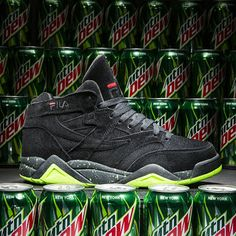 EffortlesslyFly.com - Kicks x Clothes x Photos x FLY SH*T!: FILA x Mountain Dew Pop the Top on a New Sneaker C...