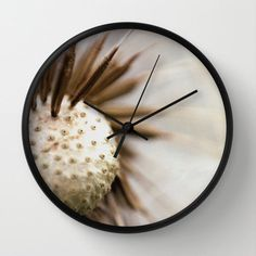 Dandelion Wall Clock  Photo Clock Original @ShelleysCrochet #etsymntt #integrityTT #etsyspecialT http://etsy.me/1oC02YR
