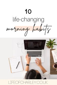 A good morning routine can change your life. Pick up these girl boss habits to have the best start to your day. #morningmotivation Early Morning Workouts, Morning Habits, Your Best Life Now, Life Is Good, Morning Motivation, Lifestyle Changes, Growth Mindset, Productivity, Are You Happy