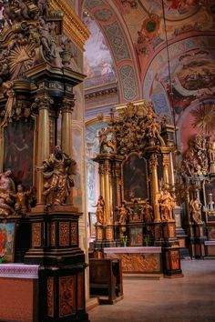 Lviv, Ukraine, Greek Catholic church, Church interior, I ❤️ Lviv