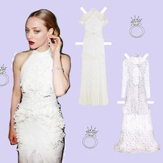 We Picked Out 9 Wedding Dresses For Amanda Seyfried To Choose From