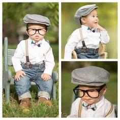 Newborn Baby GRAY NEWSBOY CAP,Toddler Photography Prop,Baby Boy Hat, Boy Photo Prop,. $24.99, via Etsy.