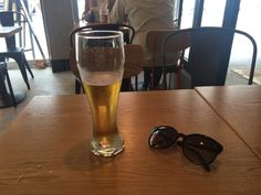Small beer in afternoon