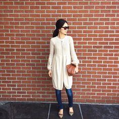 Today's outfit ☺︎ ステファネルのロングカーディガン * もう10年位前の物ですが、今でも袖の部分と、丸みがあるデザインが好きです。 * これからも大事に愛用します * * #ootd #fashion #coordinate #simple #favorite  #stefanel #joesjeans #bottegaveneta #miumiu #ファッション #コーディネート #ママコーデ #シンプル #お気に入り #カジュアル#ステファネル #デニム #ジーンズ  #ボッテガヴェネタ #ミュウミュウ