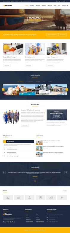 Structure is Premium Responsive Retina Parallax WordPress Construction Company Theme. WooCommerce. Bootstrap 3. Drag & Drop. Test free demo at: http://www.responsivemiracle.com/cms/structure-premium-responsive-construction-business-wordpress-theme/