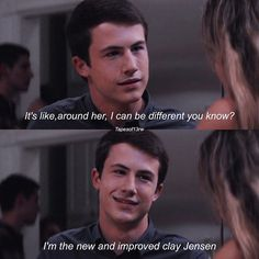 13 Reasons Why | Clay Jensen | Clay talking about Hannah is the cutest thing ever