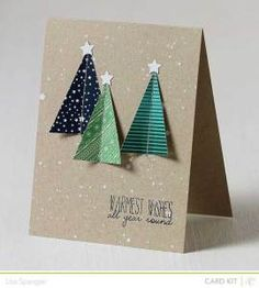 DIY-Christmas-postcard-ideas-  Trees