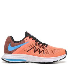 9497551718 Nike Women s Zoom Winflo 3 Running Shoes (Mango Blue) Nike Zoom