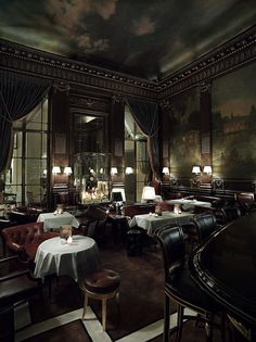 Bar 228, Le Meurice, Paris.  I only had dinner and drinks here once....it was alright.  :) #sarcasm
