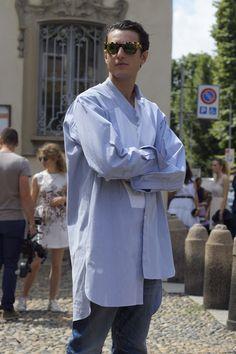 "meoutfit : meoutfit # 1557 ""Camicia Lunga - Milano"""
