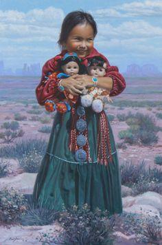 Three Little Dolls