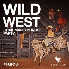 #Chairman'sBonus #FGR18 #WildWest