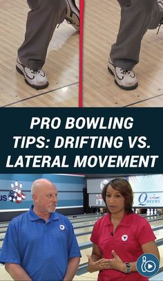 Coach Rod Ross and Assistant Kim Terrell-Kearney provide pro bowling tips discussing the differences between drifting and lateral movement when bowling. Bowling Tips, Movement Watch, Perfect Game, Consistency, Coaches, How Are You Feeling, Tutorials, Feelings, Trainers