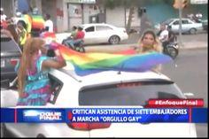 Iglesia Catolica Critican Asistencia De Siete Embajadores A La Marcha Del -Orgullo Gay-