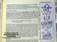 Beginning bible art journaling; how to; GodblessyourART.blogspot.com