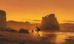 258/365 Kung fu panda, Atey Ghailan on ArtStation at https://www.artstation.com/artwork/4l1aY