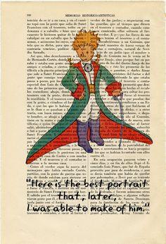 The Little Prince Book Art Print Le Petit by ThePurpleHamster