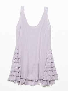 Free People Ruffled Up Cami, $68.00