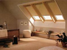 Attic Master Suite   Attic1 How to Gain Low Cost Usable Space The Attic Idea