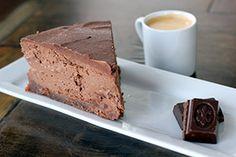 Low Carb Chocolate Raspberry Cheesecake