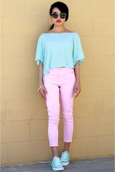 mint & pink!