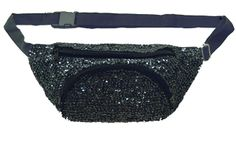 Sequin Fanny Pack.. how weird does it make me that I totally want one??