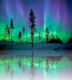 Breathtaking Northern Lights as seen from Alaska.