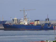 Puerto de Las Palmas. Gran Canaria     : Fredrikshamn Vessel en el Puerto de Las Palmas de ...