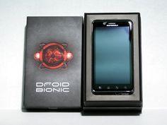 New best smartphones Motorola Droid Bionic No Contract 4G LTE WiFi 3G