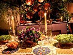 Resultado de imagem para festa arabe decoração