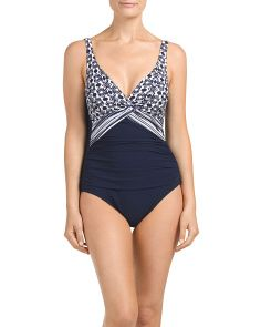 Women's One-piece Swimwear Swimsuits One Piece Swimwear, One Piece Swimsuit, One Piece For Women, Spa Day, Tj Maxx, Bodysuit, Swimsuits, V Neck, Stylish