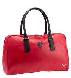 Puma Ferrari Logo Weekender Bag