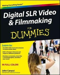 Step-by-step guide for using your digital SLR to make quality video With digital SLR cameras becoming more and more popular as replacements for standalone video cameras, this book helps photographers