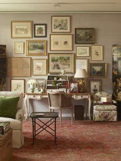 Charlotte-Moss-Gallery-Wall.jpg 449×600 pixels