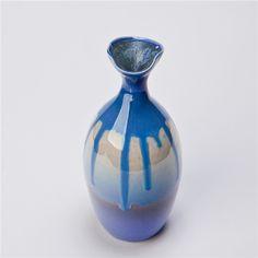 MansAge Ma.C-3074 Handmade Flower Vase Chinese Style Crafted Ceramic Sagging Glaze Flower Holder $27.21