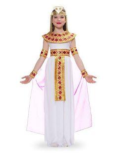 Egyptian Cleopatra (Pink) Child Halloween Costume Size 8-10 Medium by Franco, http://www.amazon.com/dp/B0036UPR6S/ref=cm_sw_r_pi_dp_4zxasb1W5Z41E