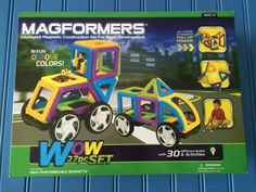 Magformers Are The Magnetic Toy That Offer Hours Of Creative Fun & 100PC Set Giveaway - Outnumbered 3 to 1