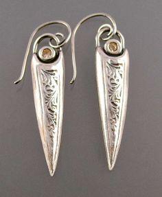 Sword Earrings by Nancy L T Hamilton, via Flickr  Nancy, you did it agian! JK